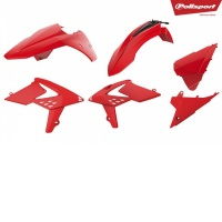 Kit Plasticos beta enduro 250/300 2T 350/400/450 4T(13-17) rojo