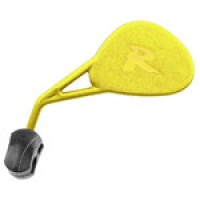 Retrovisor enduro plegable amarillo
